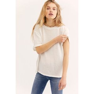 FREE PEOPLE CASSIDY TEE 🌸IN STORES🌸